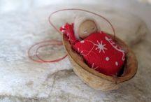 karácsony-textilfigurák