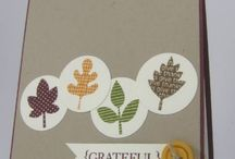 Thanksgiving/Fall Cards / by Veronica Durfey
