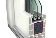 Plastové vchodové dveře / Německý systém GEALAN S 9000.