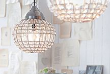 lighting 'n ceiling decorations / by Leah Clark