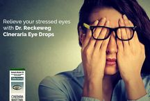 Homeopathy Eye Care / Homeopathy eye drops and internal medicines for cataract, glaucoma, poor vision, corneal opacities,  eye infection, conjunctivitis, hordeolum, eye strain, diplopia. Addresses degeneration leading to loss of visual power. Cineraria Maritima, Euphrasia, Mamira