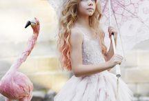 vestidos plumas