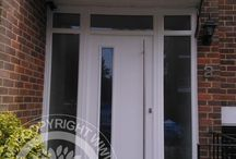 Solidor Brescia Timber Composite Doors / Selection of images featuring the Solidor Brescia Timber Composite Door installed by ourselves part of the Italia Collection