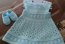 vestiditos al crochet