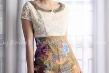 batik & casual dress
