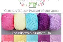 Yarn Colour Palettes