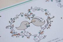 IDEIAS CASAMENTO - LOVE BIRDS - VINTAGE