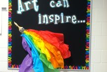 Art room decor / by Jessica Petree-Armstrong