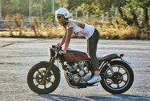 Focení s motorkama