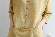 blusas lino