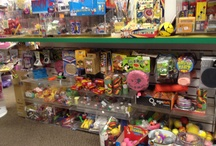 Treats for Easter  / Non-edible goodies for the Easter baskets - available at the Toy Store!