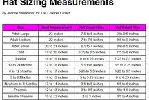 Hat size measurements
