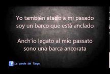 Letras de Tango y traduzione in Italiano
