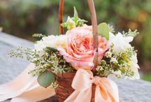 Lili's flower girl ideas / Wedding flowers