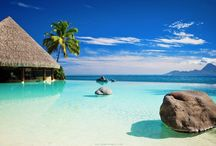 Travel Bora Bora / I love Bora Bora, sea, sun, beach...