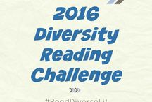Diversity Reading Challenge / We've got a fun challenge to encourage you to read more books by diverse authors and books with diverse characters. Find the challenge checklist and recommended books here.
