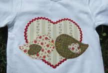 camiseta pajaritos corazon