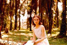 Audrey Hepburn, my idol