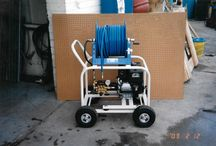 Pressure Washer 50 years - #TBT / Photos from pressure washing systems from the last 50 years.