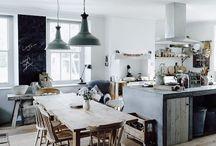 Kjøkken industristil