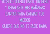 Spanish quotes and lyrics! ♡