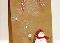 Christmas cards/bags