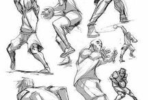 Action Poses & Gestures