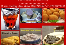 APERITIVO ITALIANO / Aperitivo Italiano - A new cooking class about ANTIPASTI & APERITIVO at Mama Isa's Cooking Classes in Venice  Come to learn how to make the authentic Spritz, Bruschetta, Arancini, Calzoni, and other famous antipasti.  Book a antipasti class now http://isacookinpadua.altervista.org/contact.html