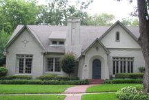Traditional Home Exteriors / Illustrating many different styles of traditional architecture