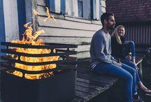 By Höfats / Découvrez la jeune et talentueuse marque allemande Höfats créée par Thomas Kaiser et Christian Wassermann proposant des braséros et barbecues design de haute qualité et de fabrication 100% allemande.