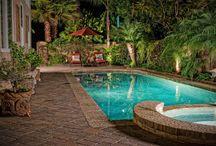 Small Yard Swimming Pools / Small Yard Swimming Pools...Small Plunge Pool...plunge pool...small swimming pool...swimming pool design...swimming pools design...tiled swimming pool...Plunge pool...Small yard