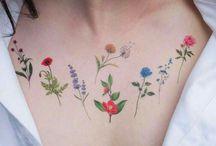 Tetování rostliny