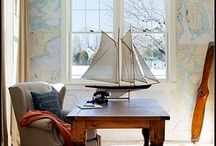 nautical&summer theme room