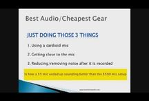 Website Videos / Videos of interest to the home recording enthusiast/beginner