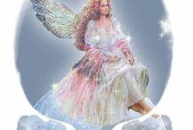 άγγελος στο ποτήρι