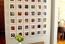 decorar la casa con fotografías
