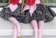 Тряпичные куклы, тильды