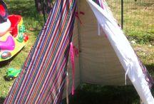 tente / tente d intérieur pour fille en coton