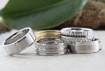 Wedding bands for the groom / Men's wedding bands