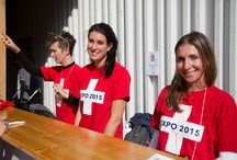 TASIS at EXPO Milano 2015 / The American School in Switzerland brought a bit of Ticino and TASIS to the Swiss Pavilion on October 10, 2015. Alumni musicians and guests entertained the crowds all day while students and faculty took part in flash mobs, presented workshops, and performed for guests to the Swiss Pavilion.