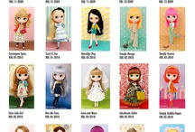 Blythe catalog / by Pieces of Me NL