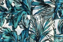 Tropical Leaf Trend / The latest trends showcase a range of tropical designs. This board reveals some of our own Tropical Leaf designs as well as inspirational images found elsewhere.