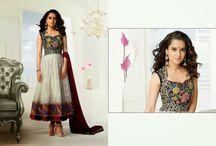 Kangana Ranaut Desinger collection / Kanagana Ranaut designer salwar kameez, long anarkali suit, Saree, Lehnga sari, Pakistani suit, Lehnga, replica saree, event outfit collection from Indiantrendz.