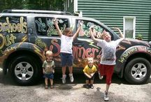 Childhood cancer awareness month car