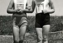 vintage swimwear / swimwear from the past