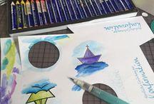 ♥ KARTEN colorieren