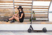 La trottinette électrique ultra légère / Littleboard est une trottinette électrique légère et design