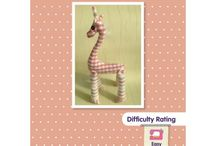 Sewing patterns for children to make / Lots of great sewing projects for children or beginners.  These can all be hand sewn or can be sewn with basic sewing machine skills