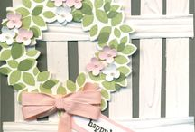 Stampin'up - Wreath