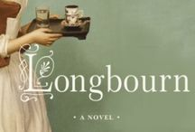 "LONGBOURN by Jo Baker / Pins containing visual images inspired by Jo Baker's LONGBOURN, an irresistibly imagined belowstairs answer to ""Pride and Prejudice"", where the servants take center stage.   On-sale now by Knopf."
